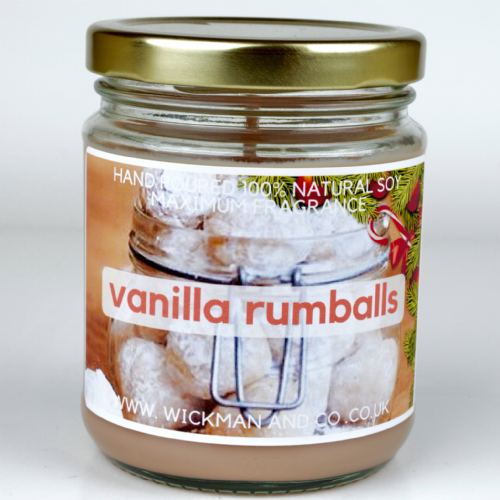 Vanilla Rumballs - Large